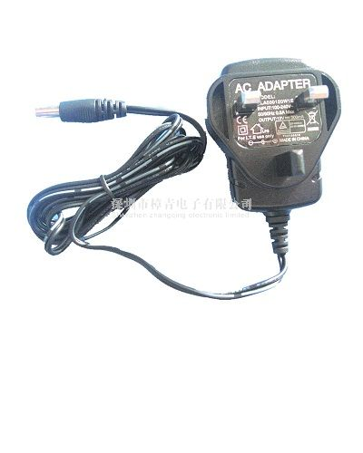 12V 0.3A UK power adapter