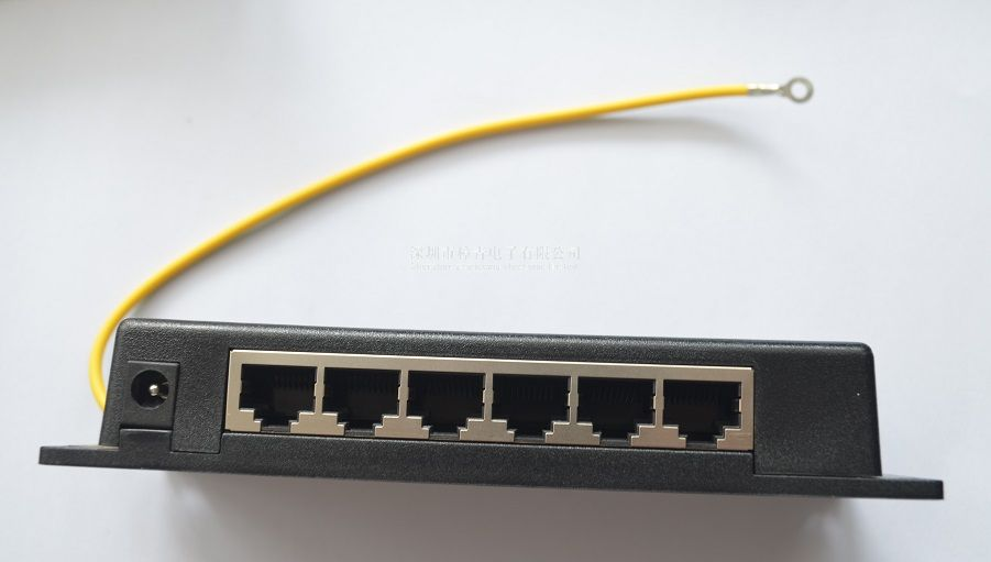 6port passive Gigabit poe injector